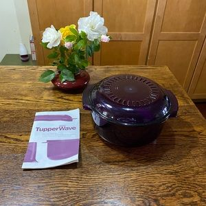 TUPPERWARE WAVE STACK 2 PC COOKER